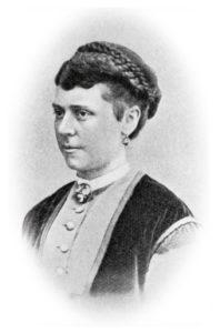 Augusta Lundin hade modemagasin på Brunlebergstorg