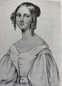 Jenny Lind avporträtterad av Maria Röhl som bodde på Brunkebergs torg