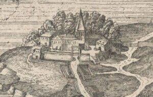 Klara kloster, detalj från blodbadstavlan 1520